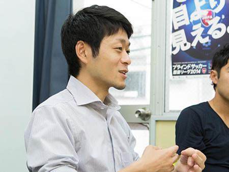 日本ブラインドサッカー協会事務局長 松崎英吾氏